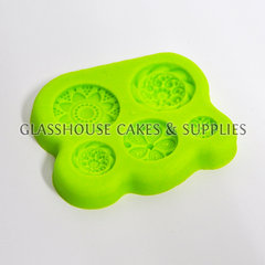 5 Celtic Buttons Molds