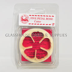 FMM 5 Petal Rose Cutter 50mm