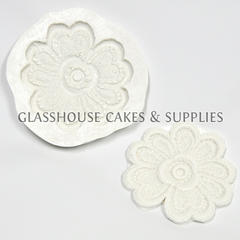 Flower Lace Silicone Mold - Large