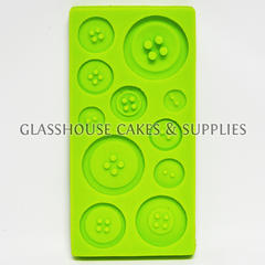 Round Basic Buttons Silicone Mold