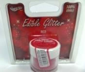Rainbow Dust Edible Glitter RED
