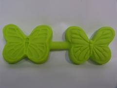 Butterfly double sided mold
