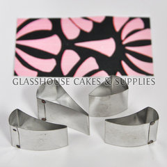 Glasshouse Cakes & Supplies. Art Deco Fan Cutter Set