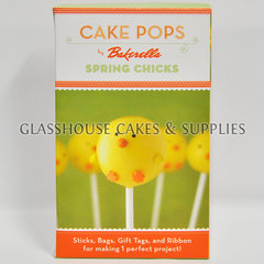 Cake Pops Spring Chicks