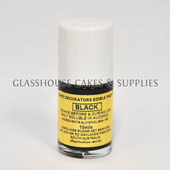 Black Carolines Edible Paint