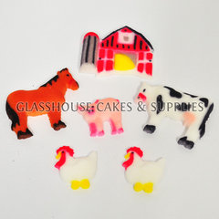 Farm Themed Edible Toppers