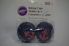 Wilton Nautical Mini Baking Cups
