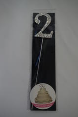 Diamante Number Topper 2