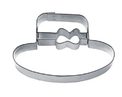 Hat with Ribbon - Cookie Cutter