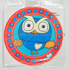 Edible Cake Image Owl : Glasshouse Cakes & Supplies. Hoot the Owl Edible Image