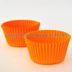 50 Patty Cups Orange