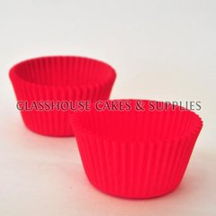 50 Patty Cups dark pink