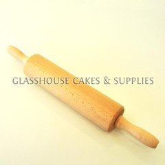 Wooden Rolling Pin 12 x 2.5 inches