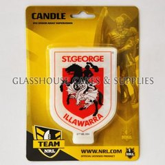 St George Illawarra Dragons NRL Candle