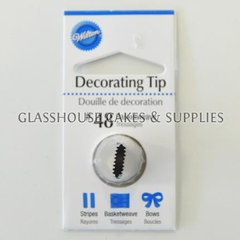 Wilton Tip - Basketweave 48