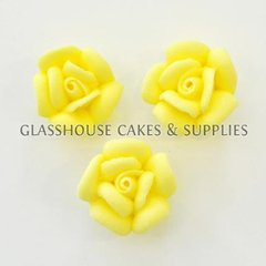 Small Yellow Roses 12 Pack