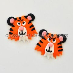 Tiger Fondant Toppers