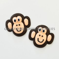 Monkey Edible Toppers - 6 pack