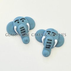 Elephant Edible Toppers - 6 pack