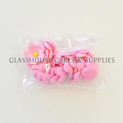 Pack of 20 Small Flowers - Pink