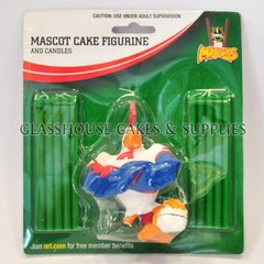 Roosters NRL Cake Figurine and Candles