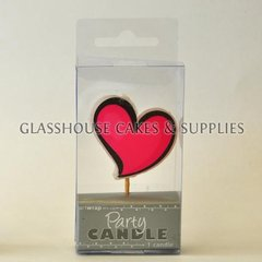 Heart Party Candle
