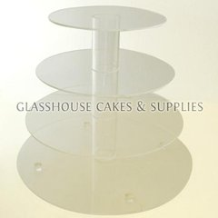 Round Acrylic Stands - 4 Tier
