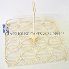 Robert Gordon Cupcake Carrier - Cream