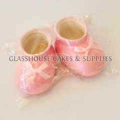 Baby shoes topper - girl