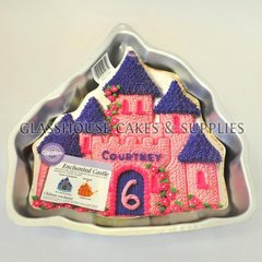 Castle Shaped Tin