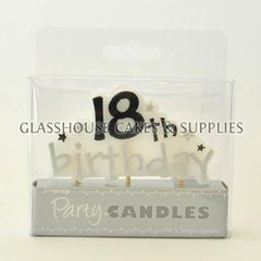 18th Birthday Stars Candle