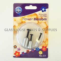 Flower Blossom Plunger Cutters - small