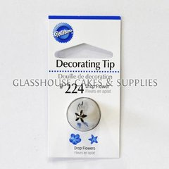 Wilton Tip Drop Flower #224