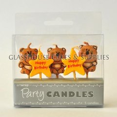 Teddies and Stars Candle