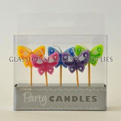Butterflies Party Candle