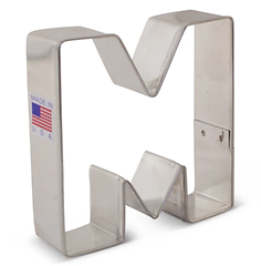 Letter 'M' - Cookie Cutter