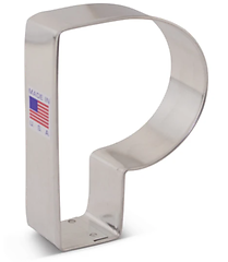 Letter 'P' - Cookie Cutter