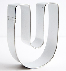 Letter 'U' - Cookie Cutter
