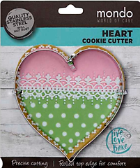 Heart - Mondo Cookie Cutter
