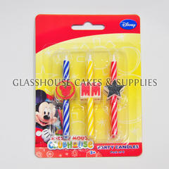 Mickey Party Candles ?û pack of 6