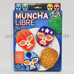 Muncha Libre Wrestler Mask Cutter IS