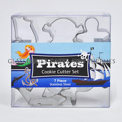 Pirates Mini Cookie Cutter Set SS