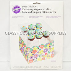 Cake Pops garden themed gift box