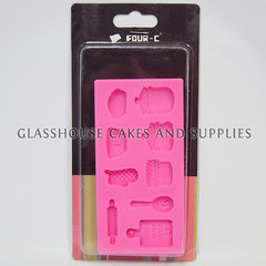 Baking sugarcraft moulds