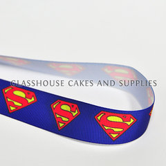 Superman Logo Cloth Ribbon