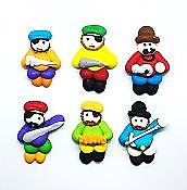 Pirate Edible Toppers - 6 pack