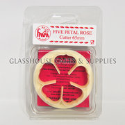 Five Petal Rose FMM Cutter Various Sizes