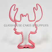 Lobster Cookie Cutter - Red