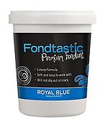 Fondtastic Fondant 908g Royal Blue