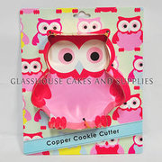 Owl Cookie Cutter – copper Robert GOrdon